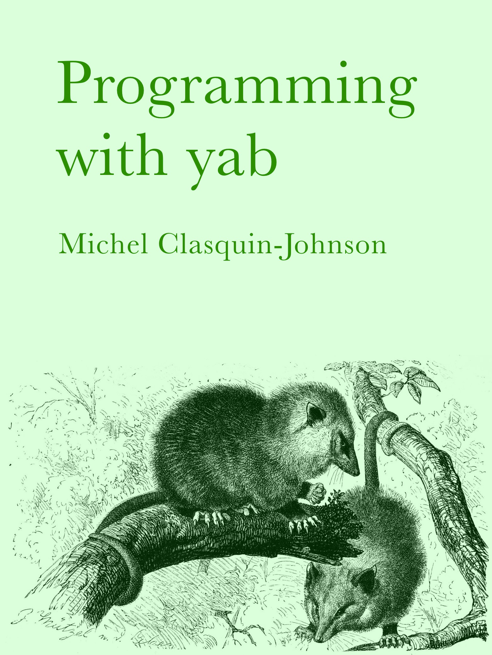 programming with yab clasqm