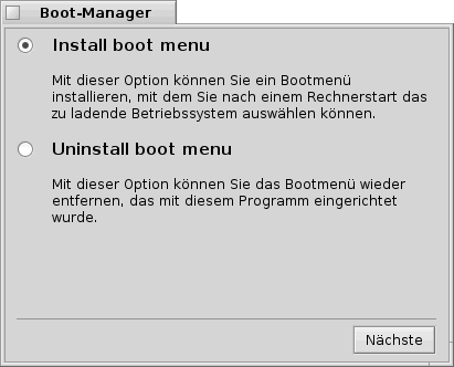 haiku07 bootman install uninstall